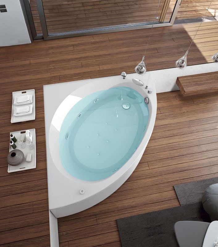 modern bathtub 12 injectors airpool idfdesign. Black Bedroom Furniture Sets. Home Design Ideas
