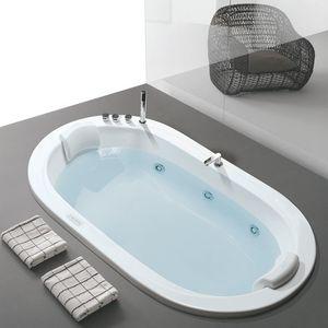 Oasy, Bathtub oval, with sanitizing system