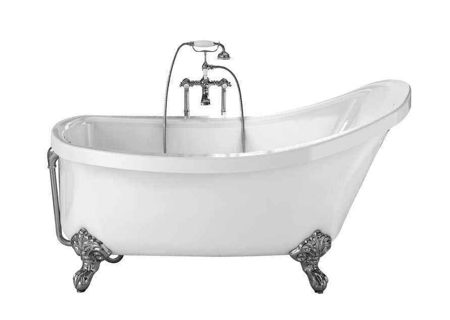 Regal Modern style bathtub made of acrylic idfdesign