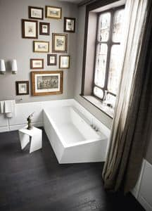 Picture of WARP corner bathtub, suitable for spa