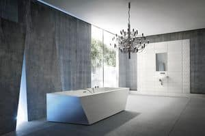 Picture of WARP freestanding bathtub, suitable for thermal center
