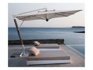 Giotto arm, Parasol with lateral arm for terrace