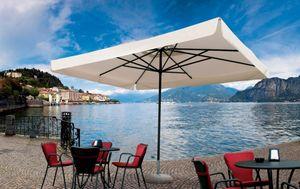 Napoli standard, Parasol for kiosk, aluminum frame, lightweight
