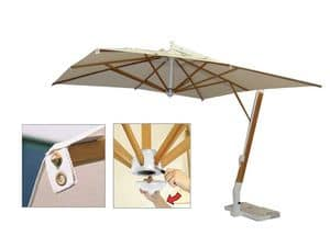 Picture of Side arm umbrella ecr�, modern parasol