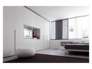 Picture of Alfa Hinged Door 2, wardrobes in wood
