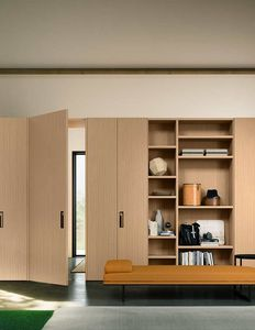 App A, Wooden cabinets, walnut trim, for bedroom