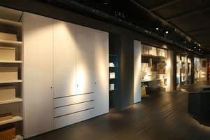 Habitat, Wardrobe customizable, for corridors and laundries
