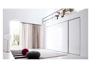 Picture of Plane Sliding Door, wardrobes in wood