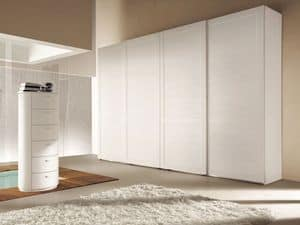 Picture of Sliding Domino door Comp. 14, made-on-measure cabinets