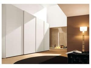 Picture of Sliding Plain door Comp. 05, made-on-measure cabinet