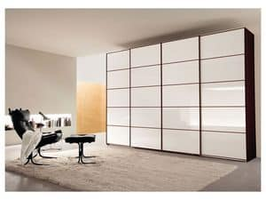 Picture of Sliding Quadro door Comp. 16, modular cabinet