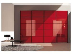 Picture of Sliding Quadro door Comp. 18, bedroom wardrobes