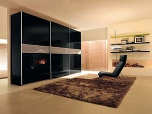 Picture of Sliding Sector door Comp. 46, sectional cabinets