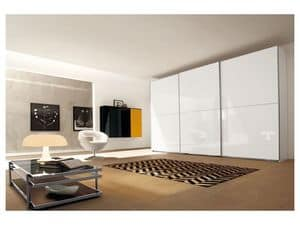 Picture of Sliding Vega door Comp. 35, cabinets with hinged or sliding doors