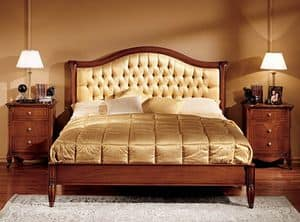 Picture of Alice bed, hand-carved bed