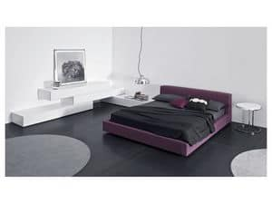 Picture of Alter Ego bed, fabric bed
