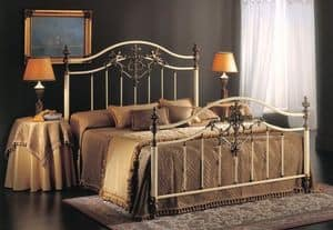 Picture of ANGELICA 1275-A BRO/AV, decorated bed