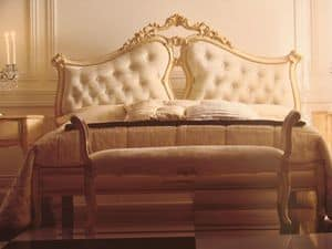 Picture of Art. 5900, bed in painted wood