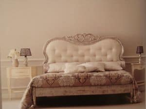 Art. 967, Classic double bed for the bedroom, carved
