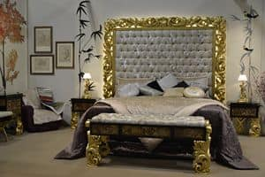 Art. NC001, Full bedroom furniture, in classic style