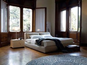 Picture of Caresse bed, bed with headboard