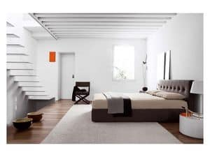 Picture of Chocolate Bed Allout Collection, modern classic beds