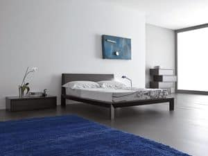 Picture of Class bed, beds with wooden bedframe