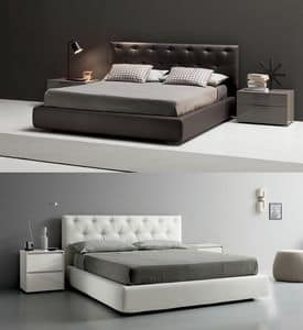 Picture of Corinzio bed, linear beds