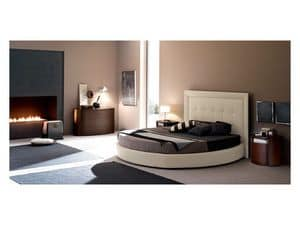 Picture of Dolcevita High, round-shaped bed
