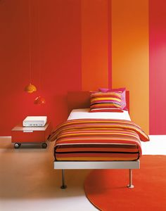 Picture of FILIPPO single, upholstered bed