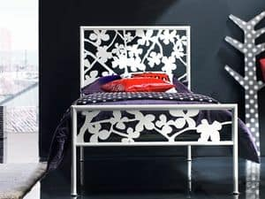 Picture of Flower Single Bed, classic style bed