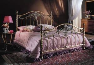 Picture of GIORGIA 1299 BRO/PE, elegant beds