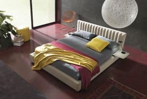 Picture of Maison, beds covered in leather