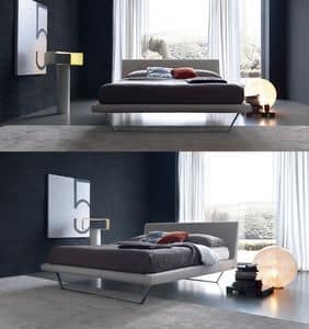 Picture of Plaza, beds with upholstered bedframe