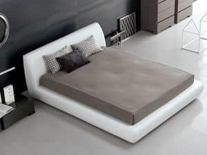 Picture of Santos bed, beds with upholstery