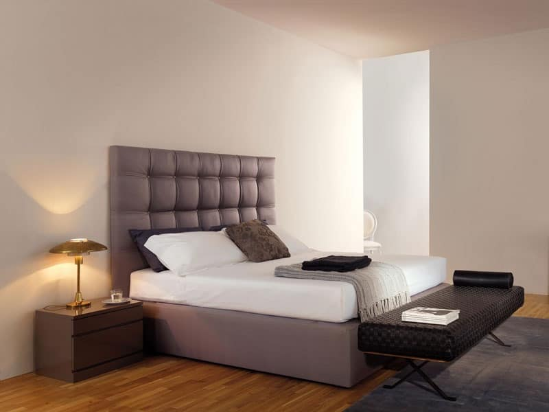 Beds without headboard b b idfdesign for Bed without headboard