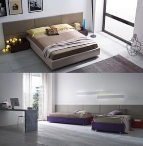 Picture of Square + sommier, beds with headboard