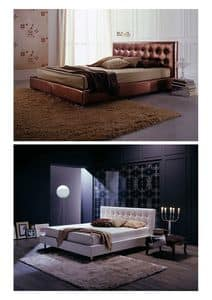 Picture of Vogue, elegant leather beds