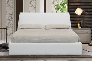 Londra, Upholstered bed with container