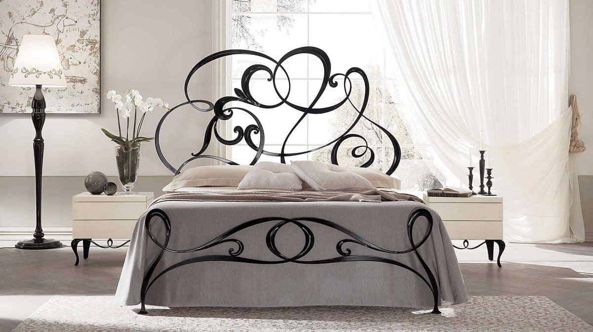 Iron Handmade Double Bed In Modern Style Idfdesign