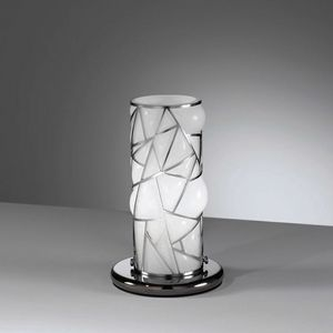 Orione Rt387-020, Table lamp with decorative metal grill