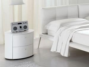 Picture of Atollo nightstand, nightstands with decorations