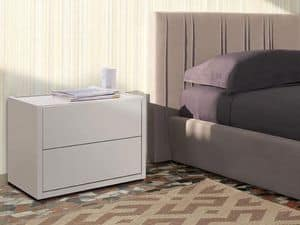 Picture of Eureka nightstand, nightstands with drawers or shelves