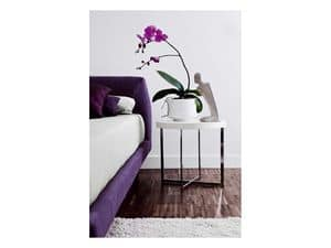 Picture of Gliss Bedside table, decorated bedside tables