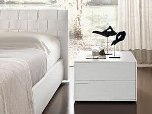 Picture of Latino nightstand, decorated nightstands