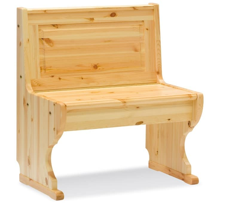 2/GNO, Corner bench, wooden, rustic style, for restaurant