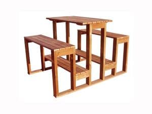 Picture of MODERNO SET, bench-table