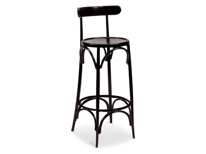 SG/10037, Barstool with wooden footrest, for bars and pubs