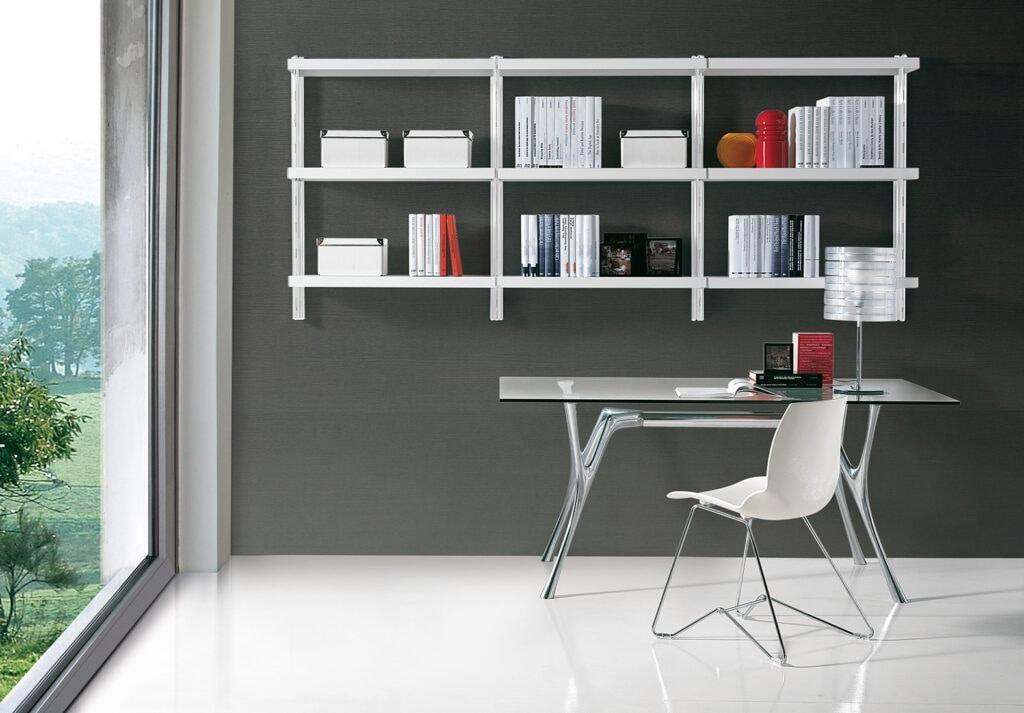 shelving units reading room big wall unit by caimi brevetti spa