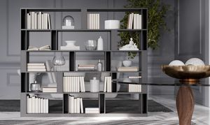 BRERA comp.02, Bifacial library for living area, high design